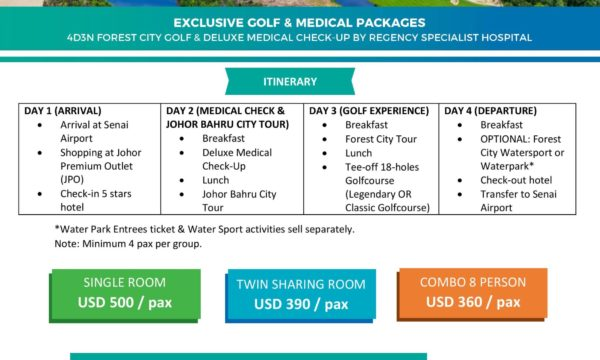 Johor Health & Leisure Package